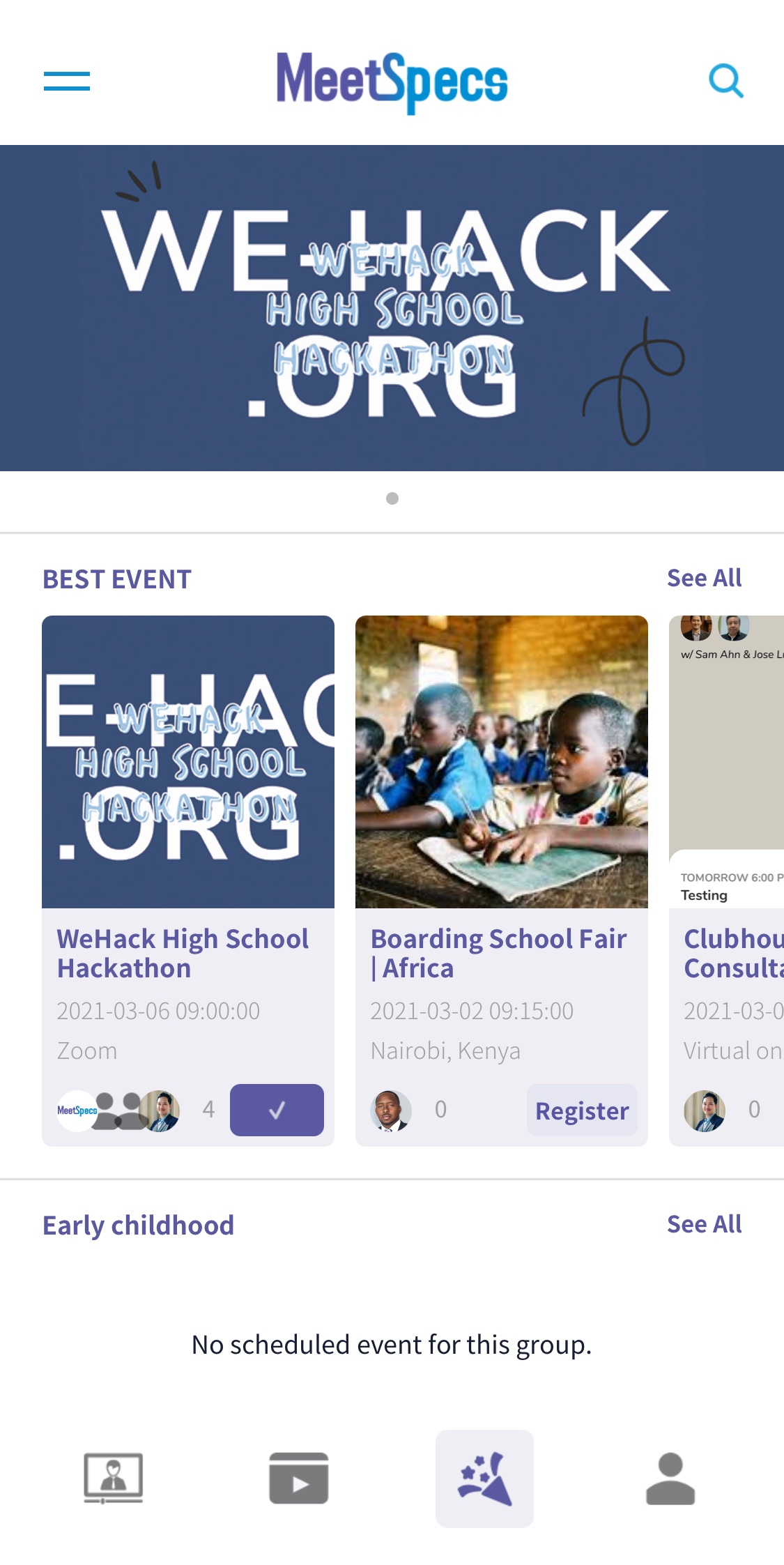 Join Events
